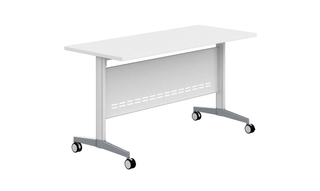 Modern Adjustable Height Office Desk Folding Training Table (HC-100)