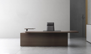 He-Change Modern Office Furniture Wooden Executive Table (HC-Decisif)
