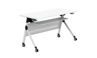 Multifunction Adjustable Aluminum Folding Training Table Meeting Room (HC-03D)