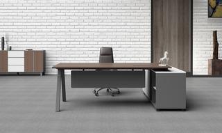 Luxury Senior Modern Office Executive Table (HC-Karen)
