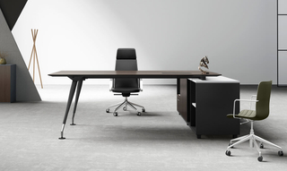 Chinese Furniture Boss Metals Office Executive Table (HC-29A)