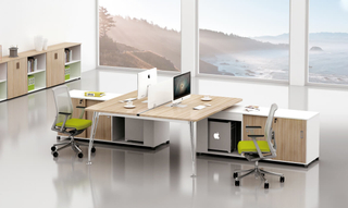 Modular Furniture Table Rectangular Office Workstation (HC-85)