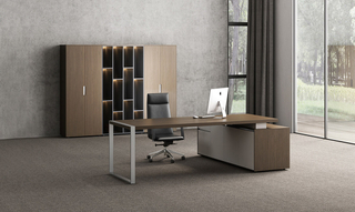 Modern Office Furniture Wood Executive Table (HC-Harry)